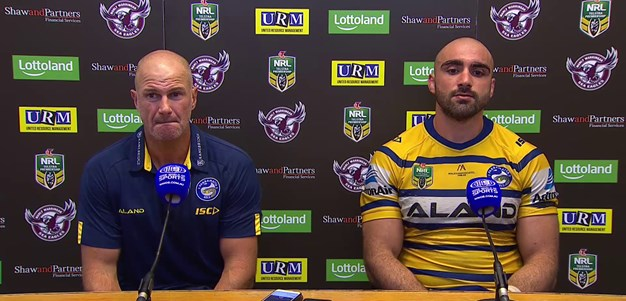 Sea Eagles v Eels - Brad Arthur & Tim Mannah Press Conference
