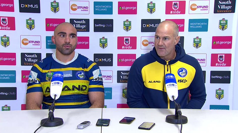 Eels Press Conference - Round 16