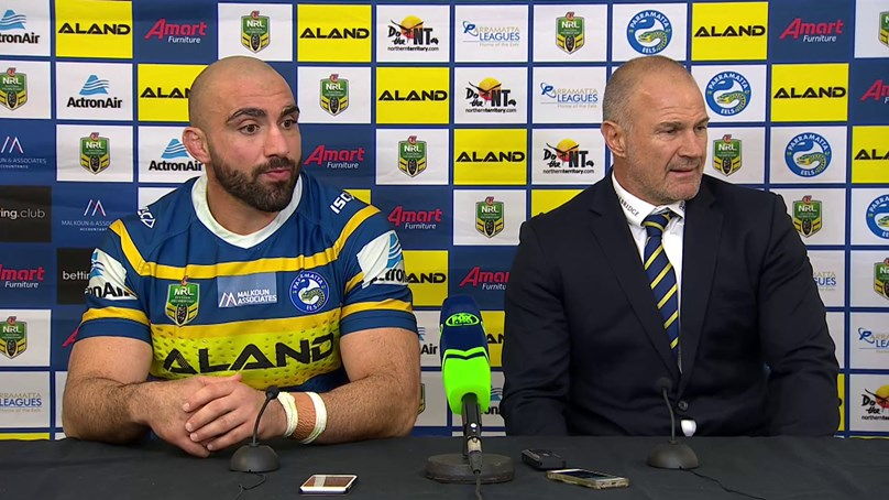 Eels Press Conference - Round 21