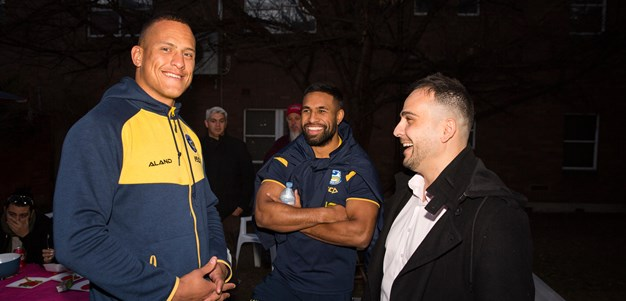 Eels attend Homeless week with Parramatta Mission