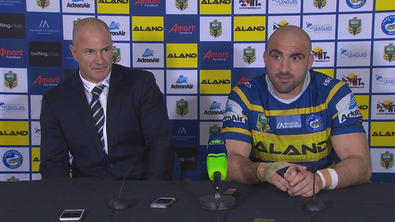 Eels Press Conference: Round 25