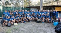 Blue & Gold go paintballing in Armidale