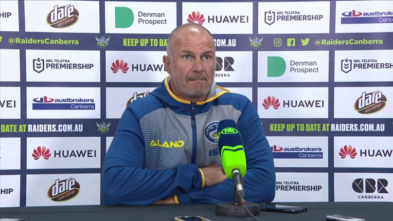 Post Match Press Conference: Raiders v Eels, Round Five