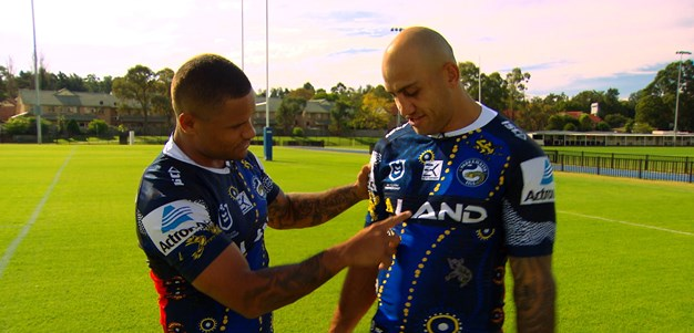 The meaning behind the Eels' Indigenous jersey