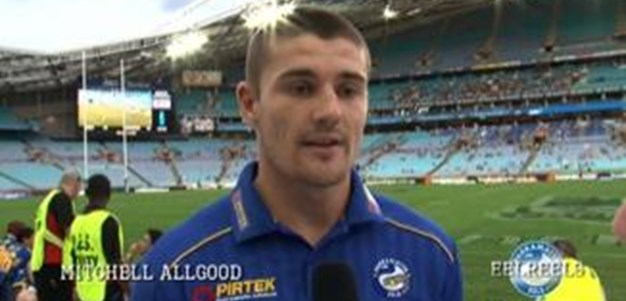EEL REELS ROUND 3 Pre Game Interview - Mitchell Allgood