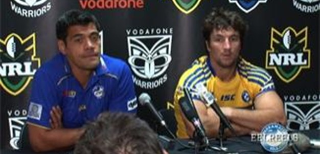 EEL REELS Round 1 Press Conference