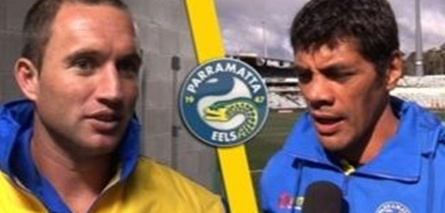Rd10: NRL Pre-game interview