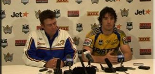 Parramatta Eels Rd 22 Press Conference