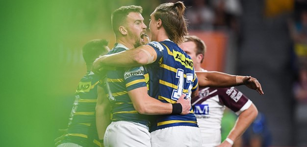 Eels raid the right edge and Gutherson scores