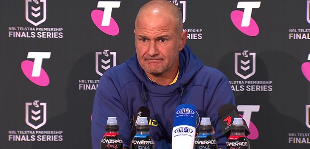 Post Match Press Conference: Brad Arthur, Semi Final
