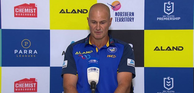 Post Match Press Conference: Brad Arthur, Round One