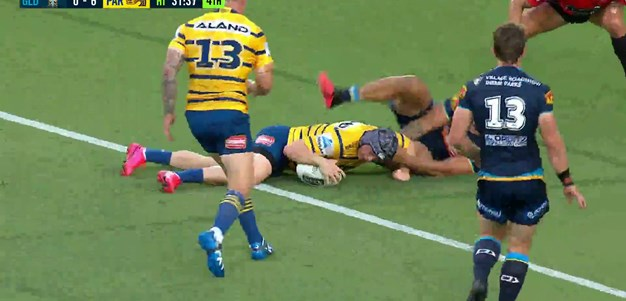 Eels continue strong start with try to Mahoney