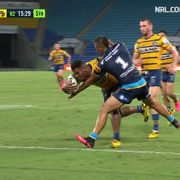 Sivo keeps the Eels rolling