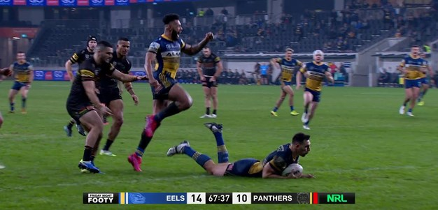 Matterson puts the Eels in the lead
