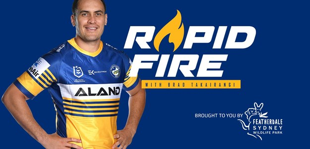 Rapid Fire: Brad Takairangi tackles some furry questions
