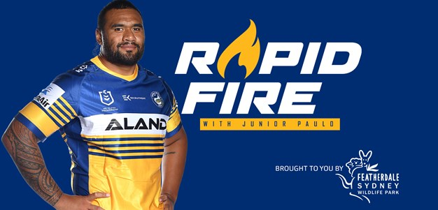Rapid Fire Junior Paulo tackles some furry questions