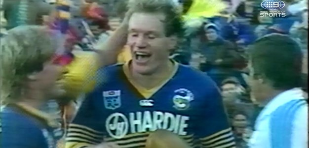 Eels legend recounts special moments in the Blue and Gold