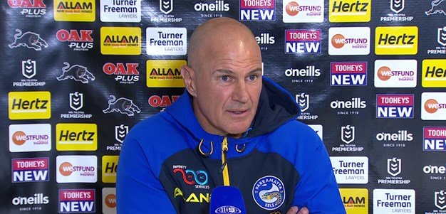 Post Match: Brad Arthur, Round 18