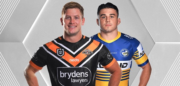 Wests Tigers v Eels - Round 20