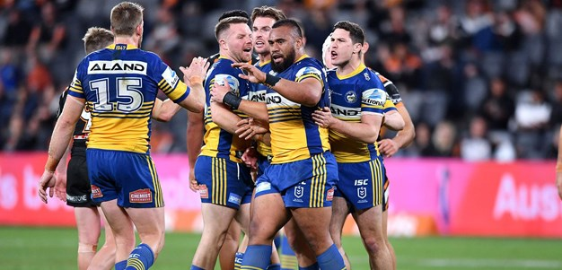 Extended Highlights: Wests Tigers v Eels