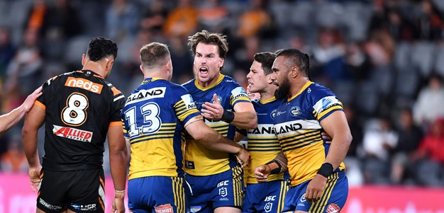 Top Five: Wests Tigers v Eels, Round 20