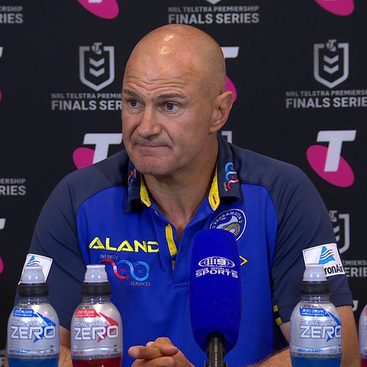 Post Match: Brad Arthur, Finals Week 2