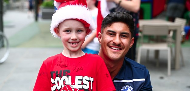 Eels deliver presents to RMH Westmead ahead of festive season
