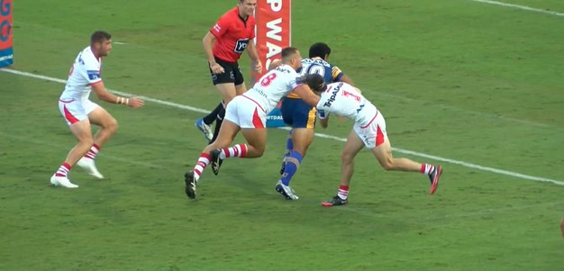 Kaufusi steamrolls his way to a try