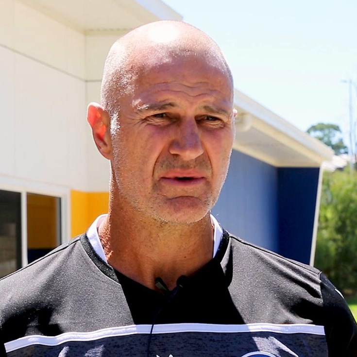 Brad Arthur speaks ahead of NRL trial