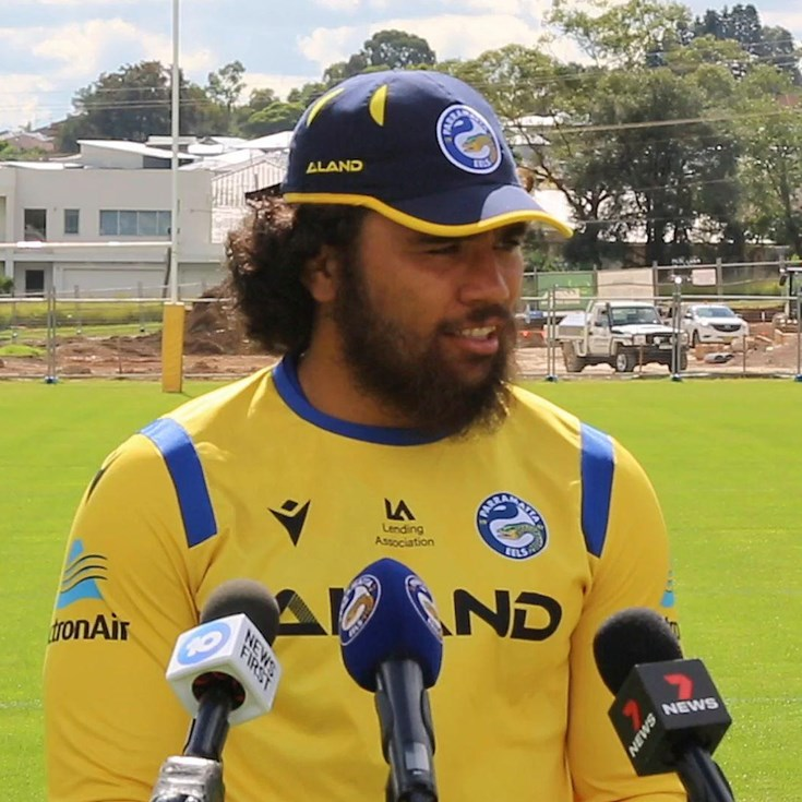 Papali'i finding his feet in Australia