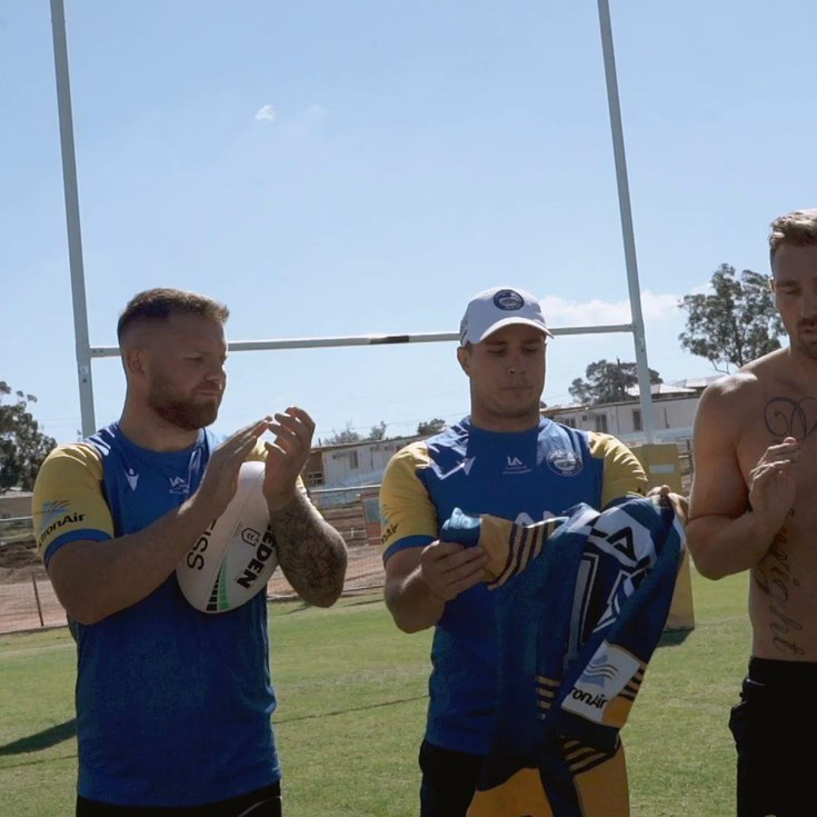 Bryce Cartwright & Shaun Lane Jersey Presentations