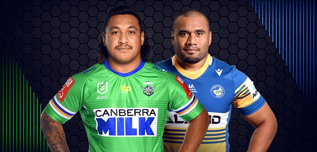 Raiders v Eels - Round Six