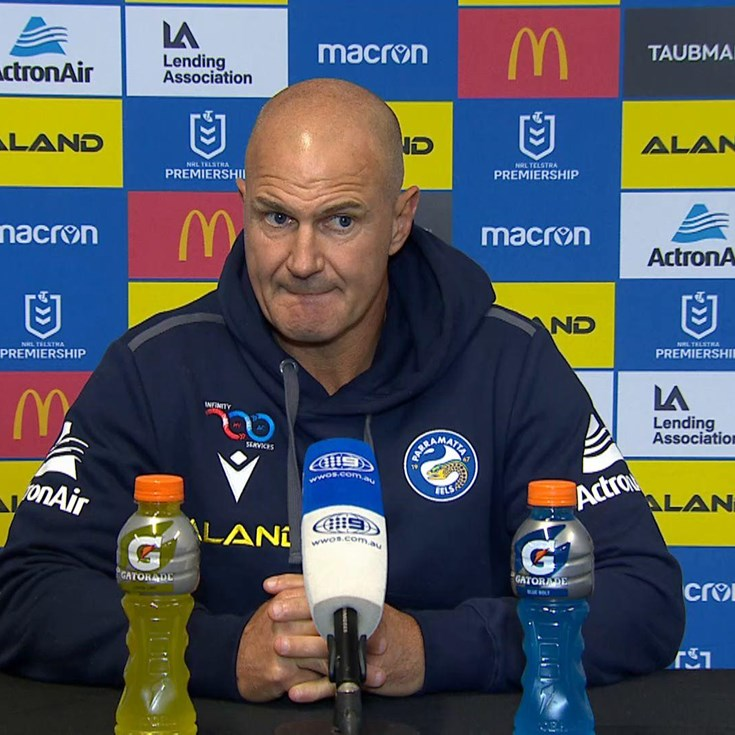 Brad Arthur Post-Match Press Conference, Round Nine