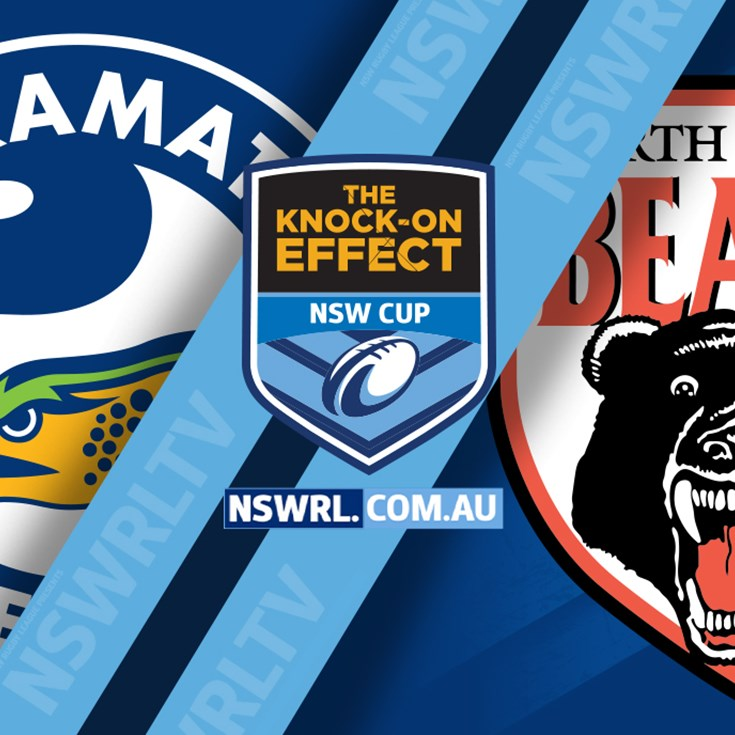 Eels v Bears NSW Cup Highlights Round 9