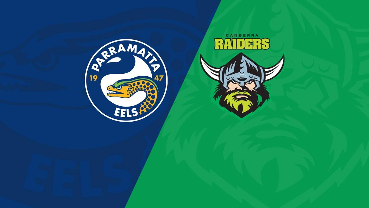 Live Stream Parramatta Eels V Canberra Raiders Eels