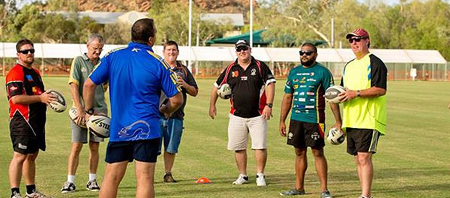 Coaching Clinic in the Northern Territory