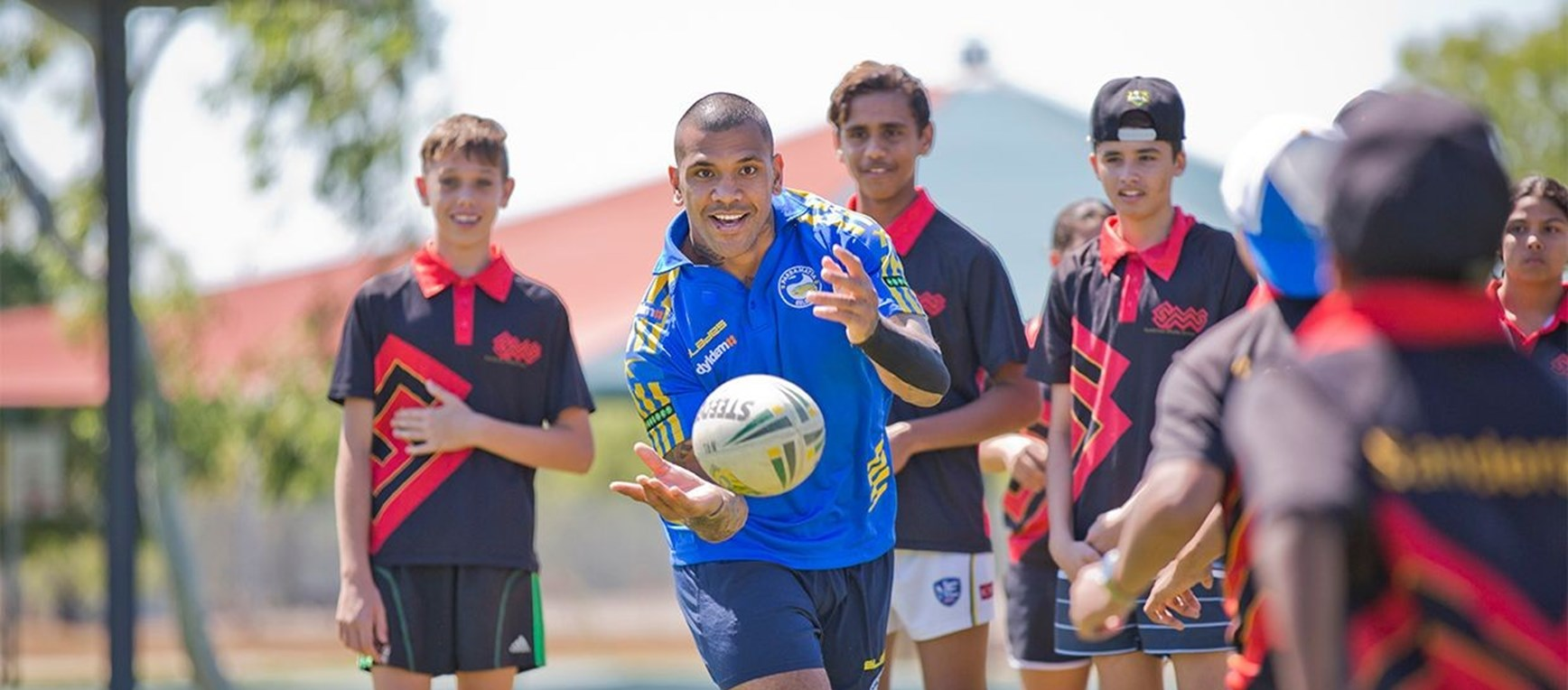 Gallery: Eels Clinics in the Territory