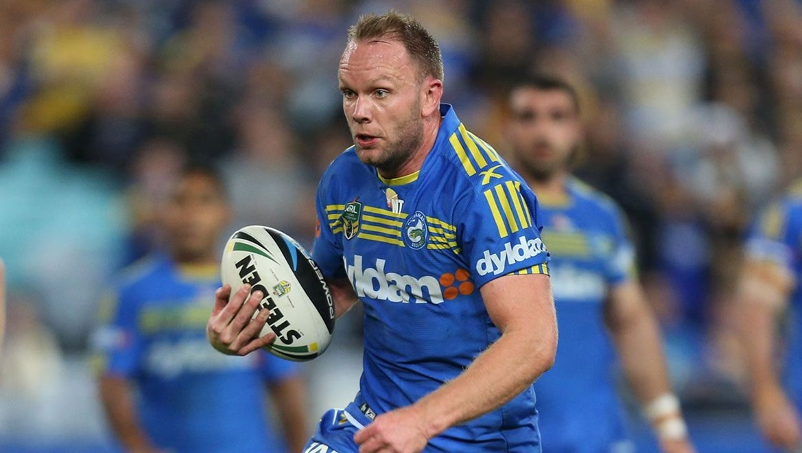 Dyldam Parramatta Eels forward David Gower