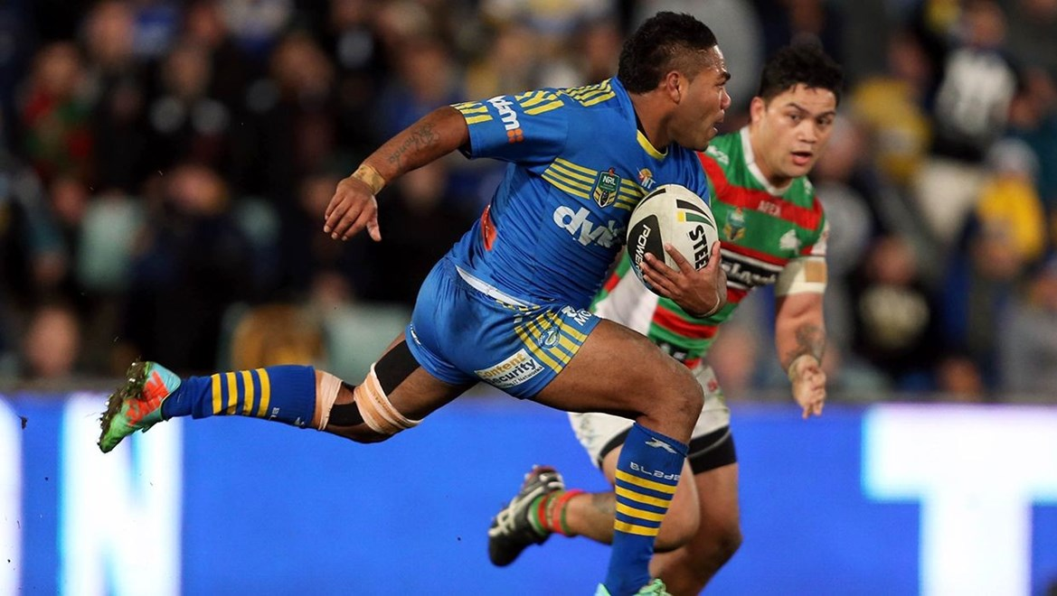Dyldam Parramatta Eels Chris Sandow. Photo by Robb Cox © nrlphotos.com