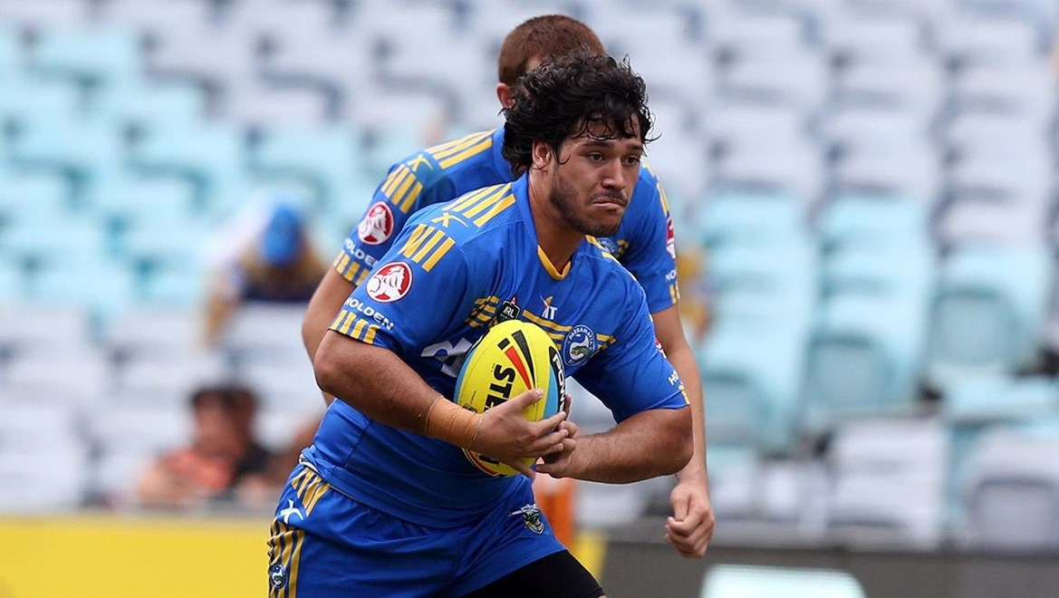 Eels Holden Cup forward Brandon Raeli. Photo by Grant Trouvile © NRLphotos