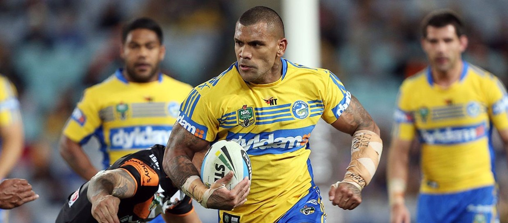 GALLERY | Eels v Wests Tigers, ANZ Stadium
