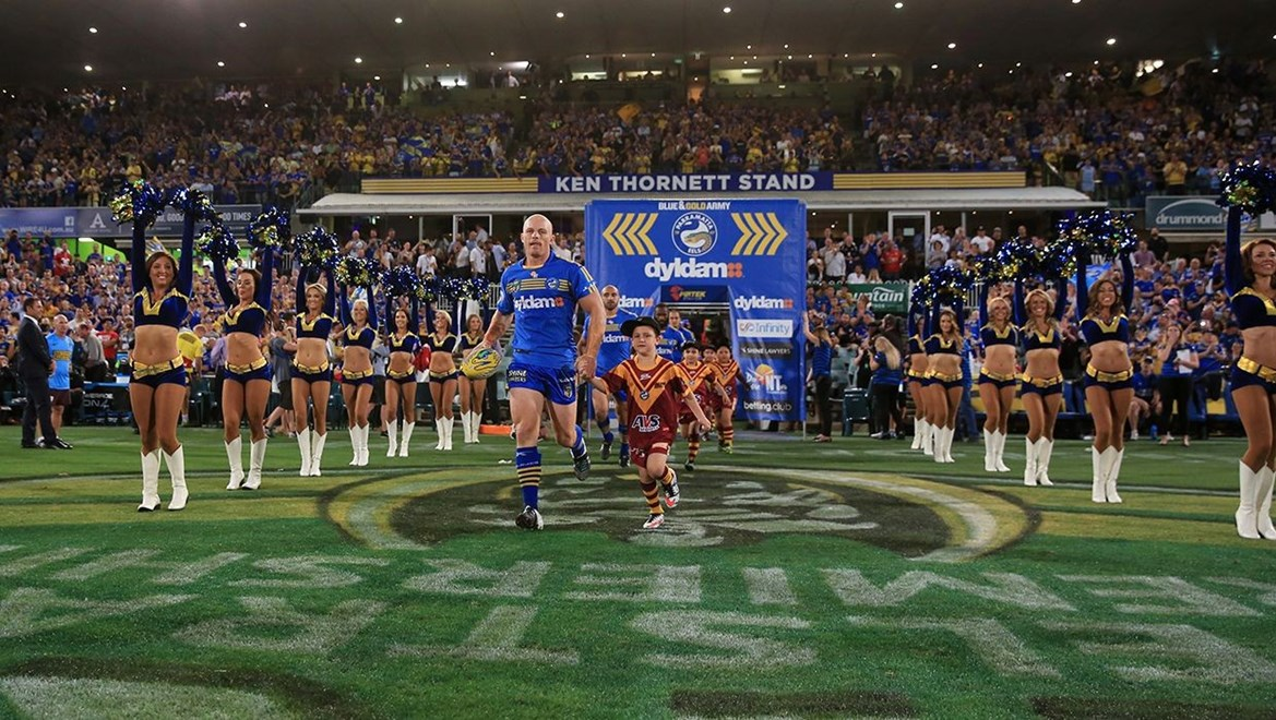 Dyldam Parramatta Eels Beau Scott. Photo by NRLphotos