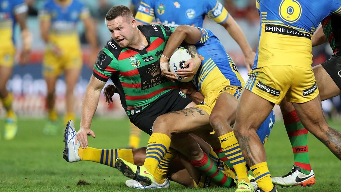 The Dyldam Parramatta Eels have today announced the signing of former South Sydney Rabbitohs forward Nathan Brown for the 2017 and 2018 seasons. Photographer – Grant Trouville © NRL Photos.