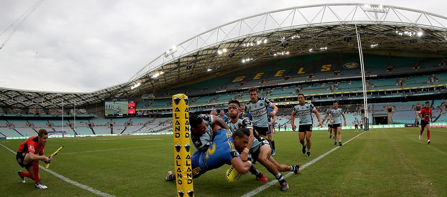 Gallery | Eels NYC run down the Sharks
