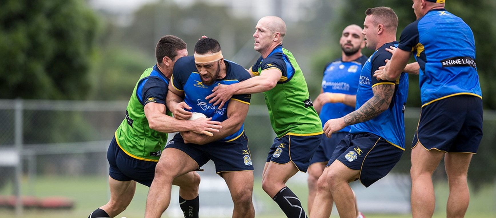 GALLERY | Eels Round Five Training Session