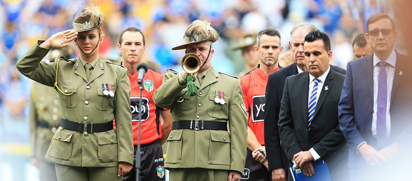 AROUND THE GROUNDS | Eels v Penrith Panthers, Salute to Service