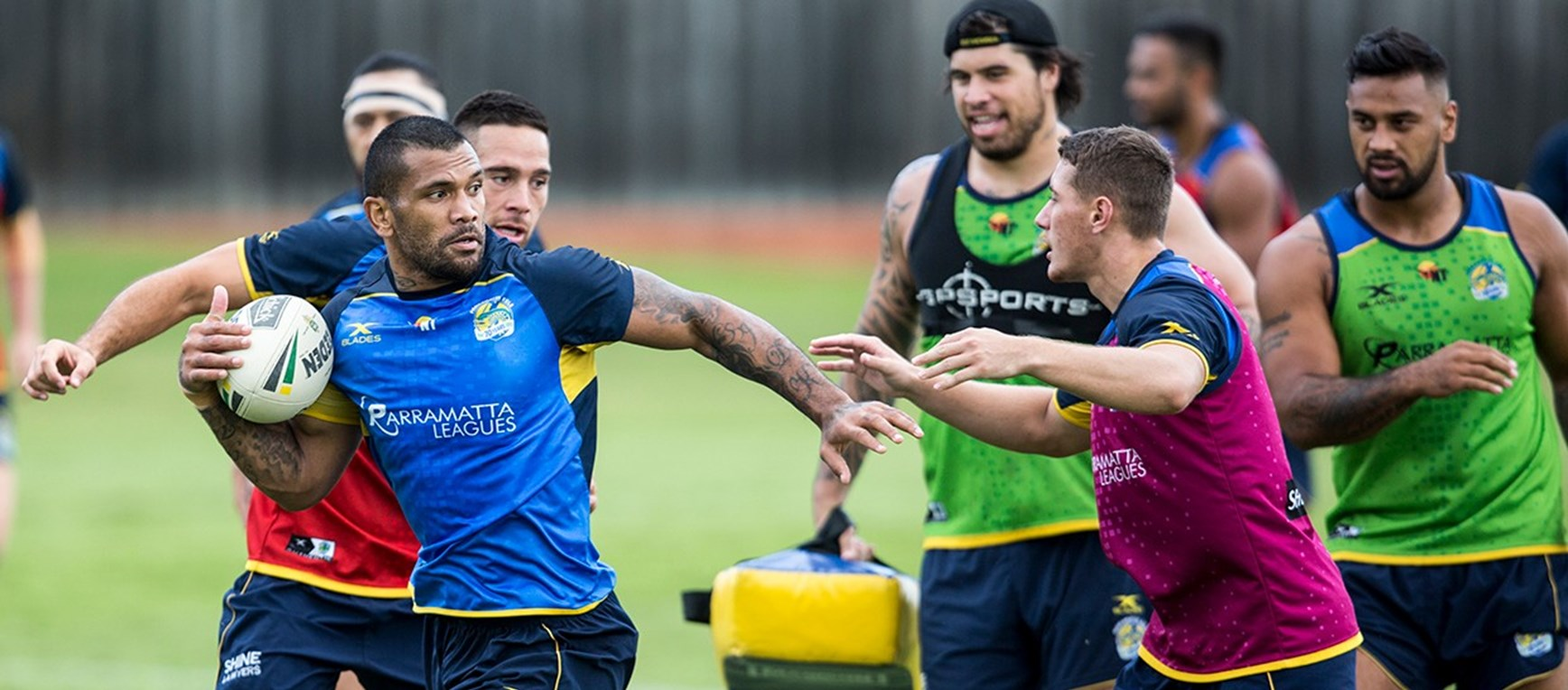 GALLERY | Eels Round Six Skills Session
