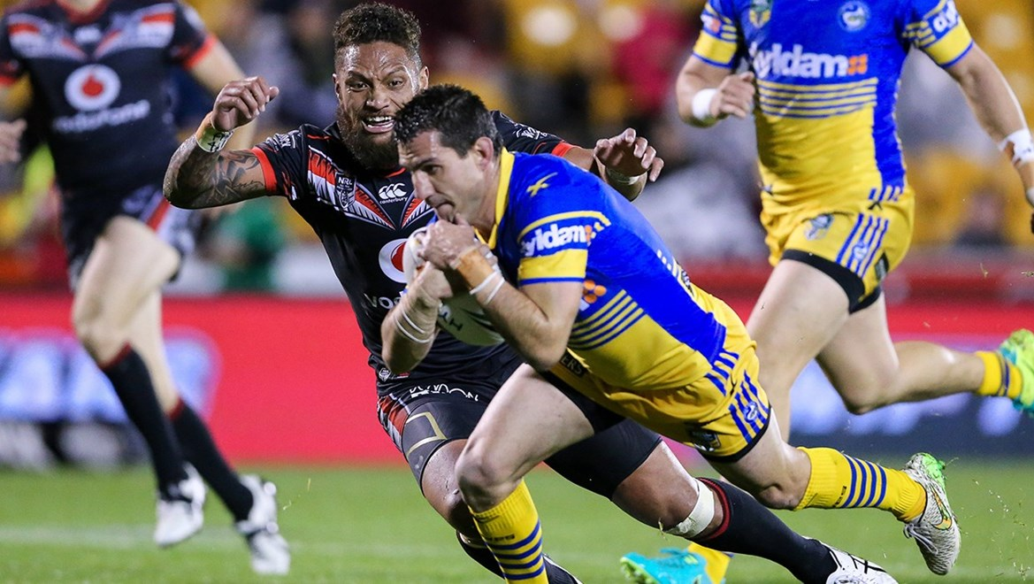 Competition - NRL Premiership Round - Round 26 Teams – NZ Warriors v Parramatta Eels Date – 4th of September 2016 Venue – Mt Smart Stadium