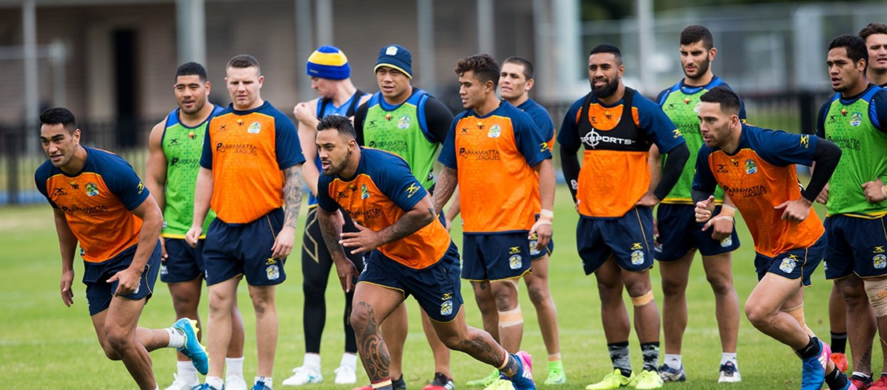 GALLERY | Eels prepare for Cowboys
