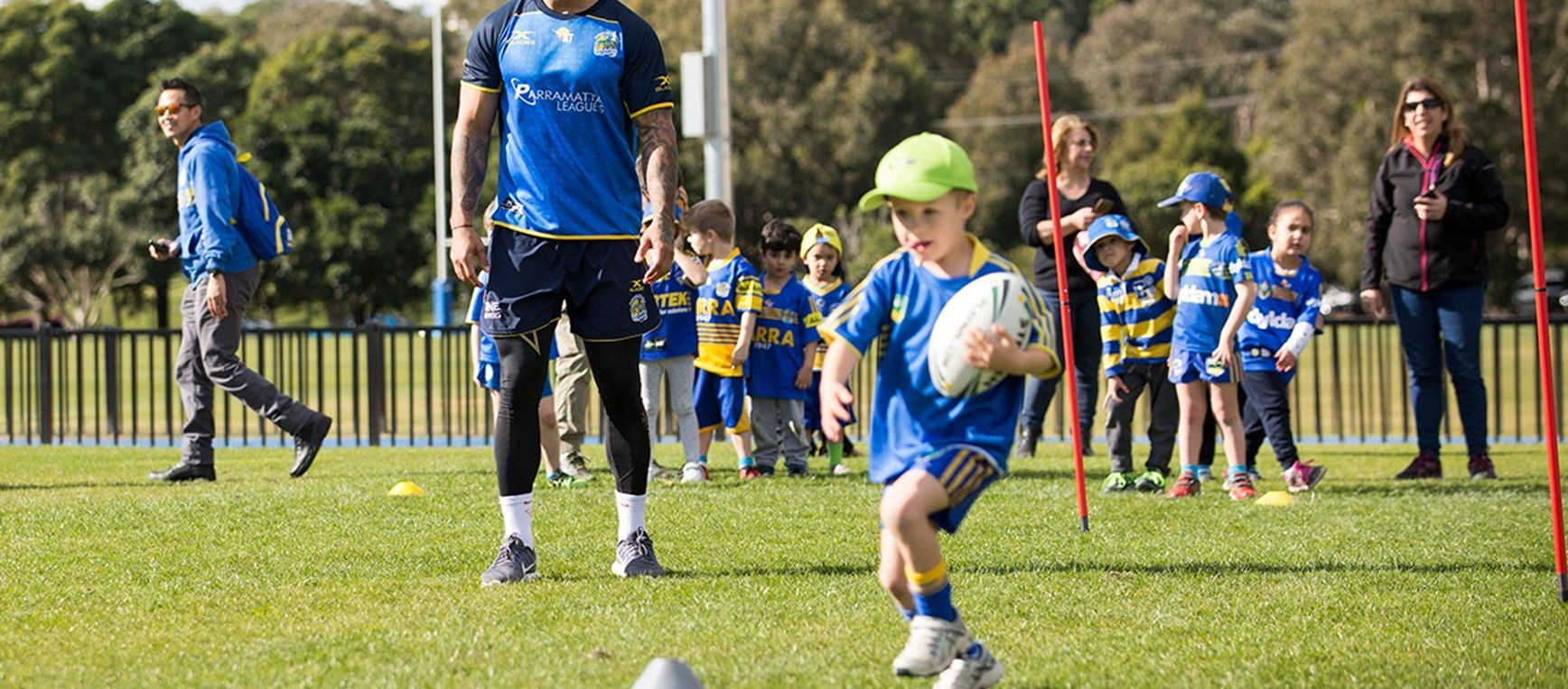 GALLERY | Eels host Junior Members Clinic